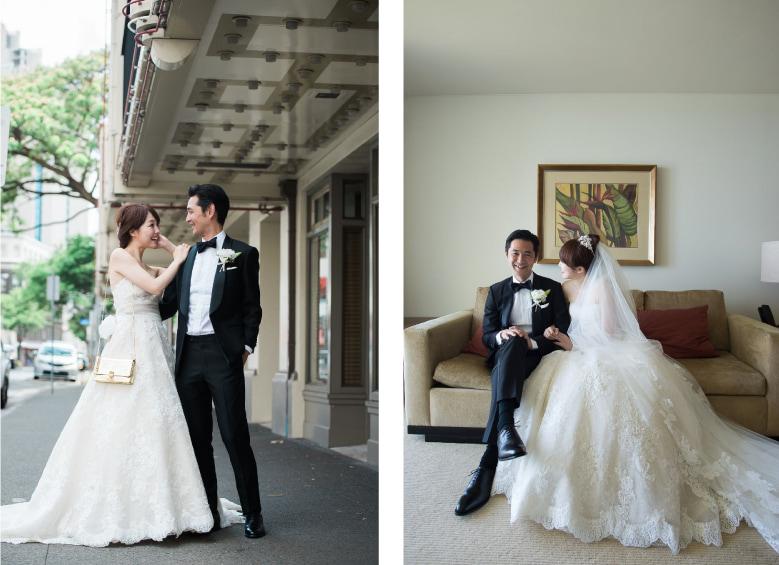 ハワイの人気ホテルで結婚式