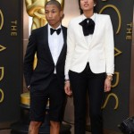 Pharrell Williams Oscar Shorts Tuxedo
