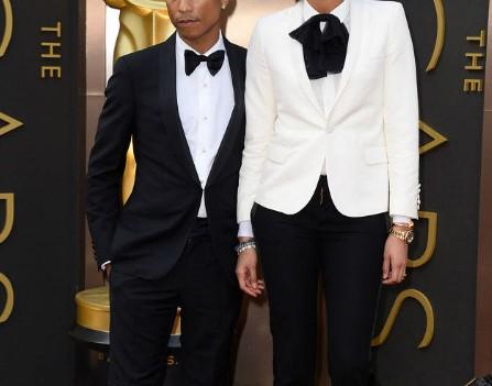 Pharrell Williams Oscar Shorts Tuxedo