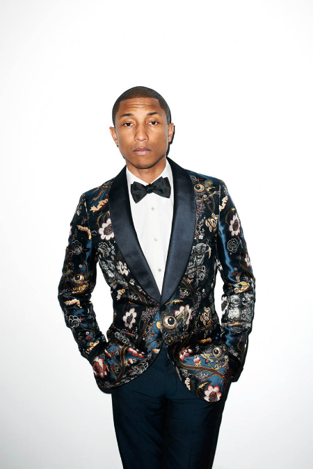 pharrell-williams-in-floral-tuxedo-bow-tie-mens-fashion