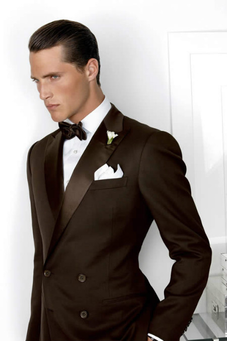 THE GENTS Ralph-Lauren-Purple-Label-Brown-Tux