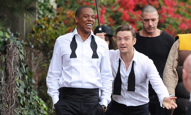 music-justin-timberlake-jay-z-music-video-shoot