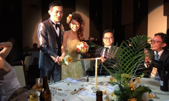 オーダータキシードヒビキラー結婚式