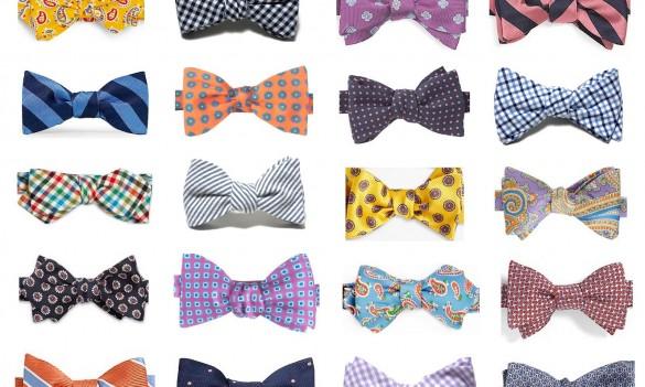 沢山の蝶ネクタイのデザイン